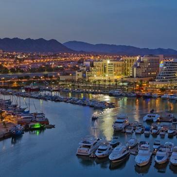 Eilat, ciudad candidata a acoger Eurovisión 2019.