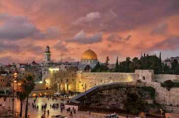 Jerusalén, ciudad candidata a acoger Eurovisión 2019.