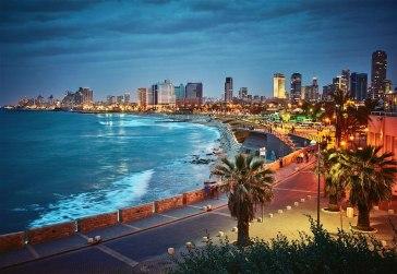 Tel Aviv, ciudad candidata a acoger Eurovisión 2019.